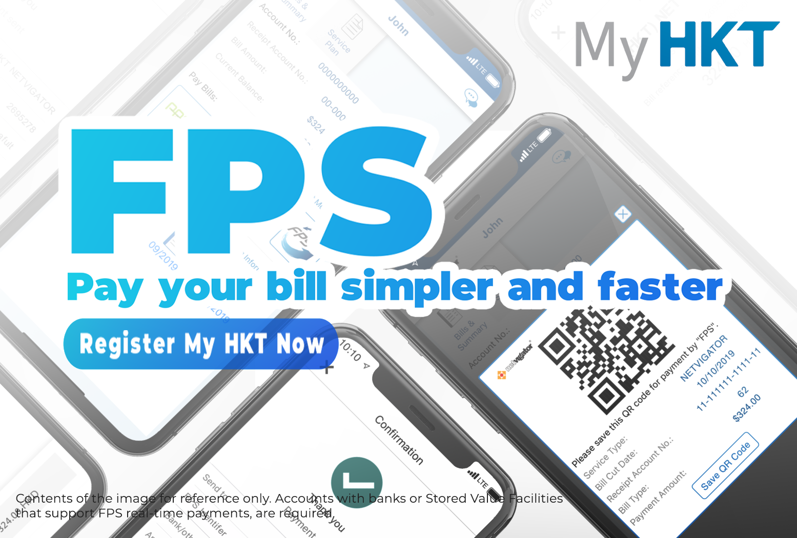 My HKT: Pay your bill simpler and faster with FPS
