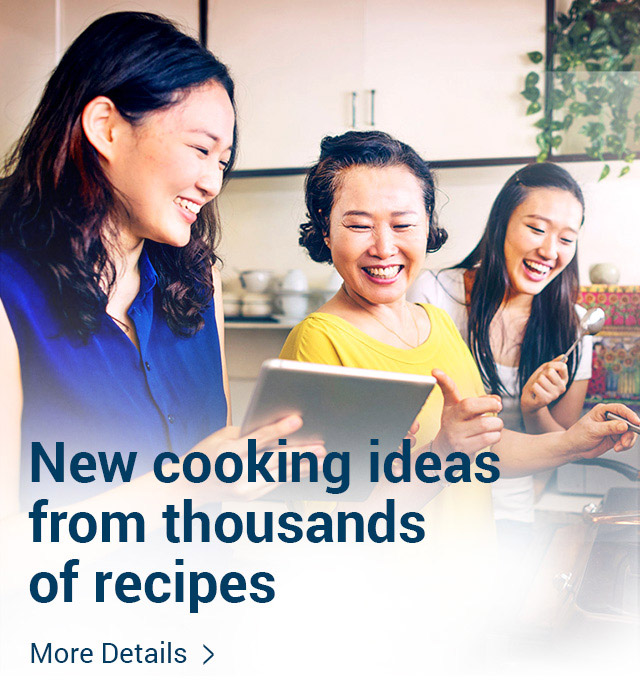 New cooking ideas from thousands of recipes